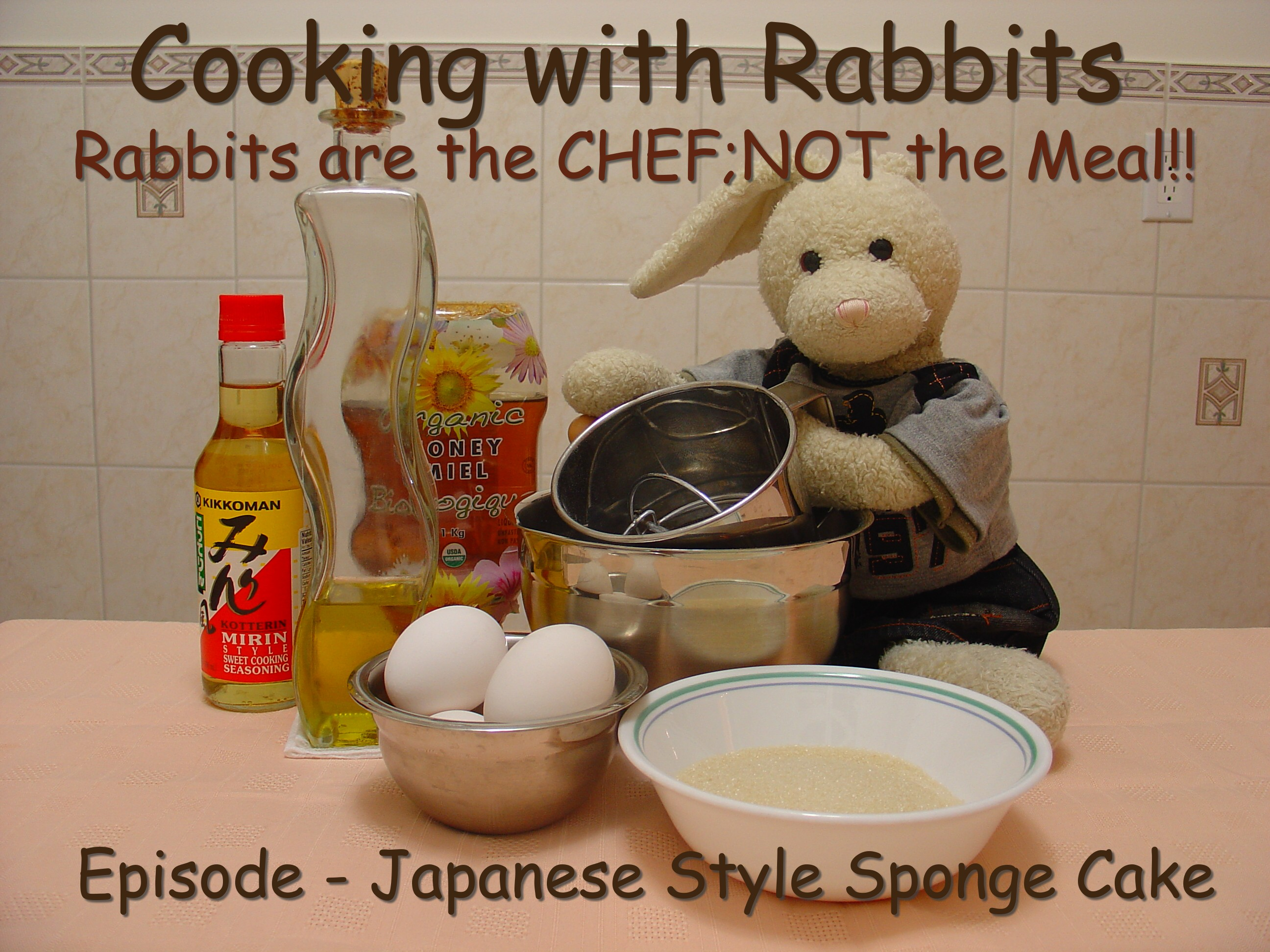 how to make japanese sponge cake